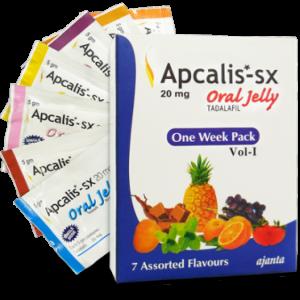 Generisk TADALAFIL till salu i Sverige: Apcalis SX Oral Jelly 20mg i online ED-piller butik namasute-mumbai.com