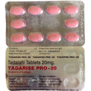 Generisk TADALAFIL till salu i Sverige: Tadarise Pro 20 i online ED-piller butik namasute-mumbai.com