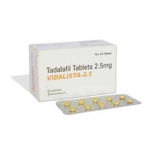 Generisk TADALAFIL till salu i Sverige: Vidalista 2.5 mg i online ED-piller butik namasute-mumbai.com