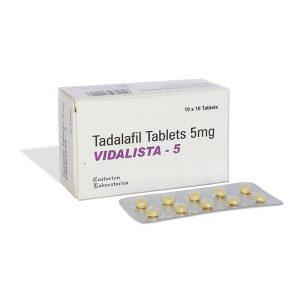 Generisk TADALAFIL till salu i Sverige: Vidalista 5 mg i online ED-piller butik namasute-mumbai.com
